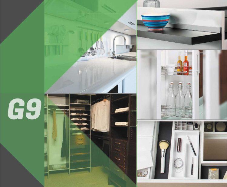 Cocina, baño y armarios: componentes y accesorios